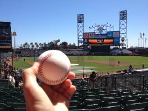 Caught Ball