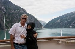 Dave and I in Alaska