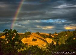 4 - Rainbow at Sunset