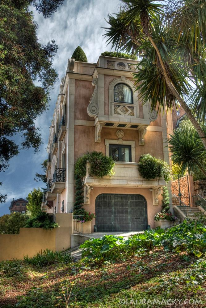 Lyon Street Steps House in San Francisco, California