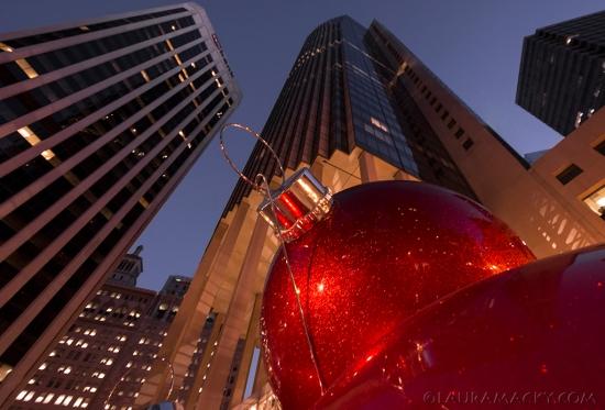 Downtown SF @ Christmas