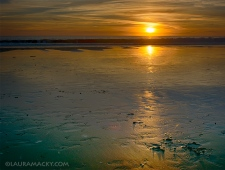 Sunset on Stinson Beach