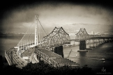 Bay Bridge (old on the right, new on the left)