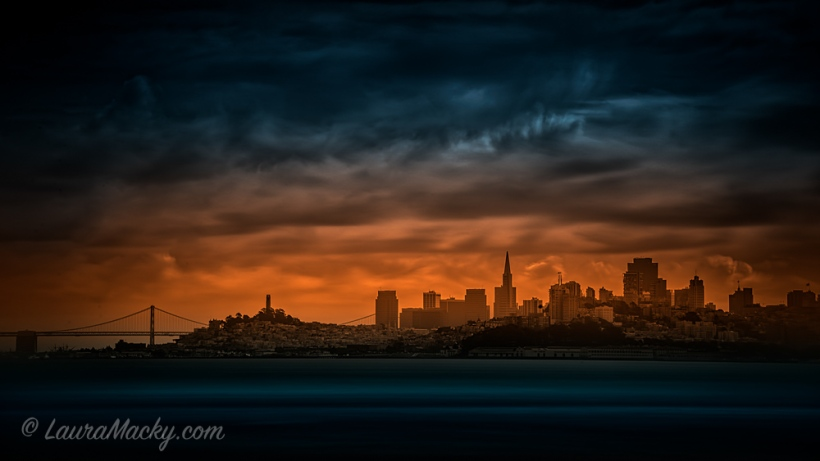 SF Skyline from Fort Baker