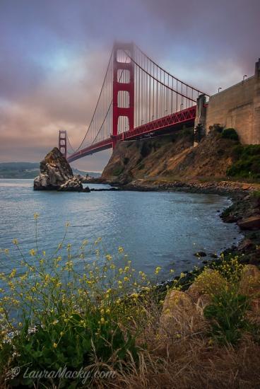 Golden Gate from Fort Baker