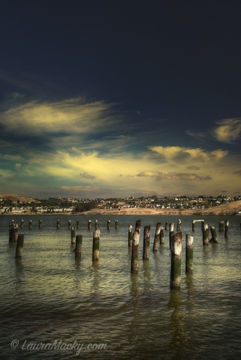 Old Pier Pillars