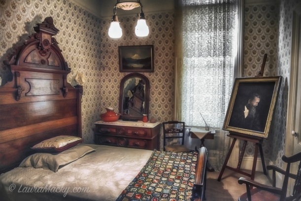 John Muir House - Bedroom