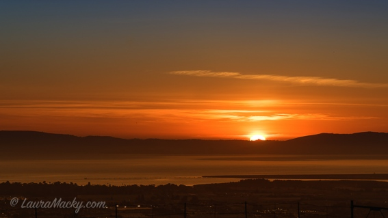 Sunset Over SF Bay