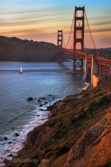 Oh Say Can You See - Golden Gate Bridge