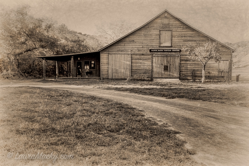 Garin Barn - Antiqued Photograph