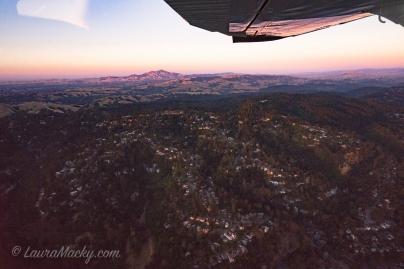 Berkeley Hills with Mt. Diablo in Background
