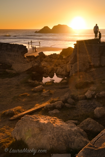 Into the Light at Sutro Baths in San Francisco