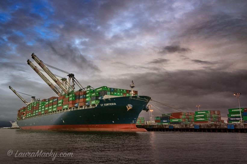 Lt. Cortesia - Port of Oakland