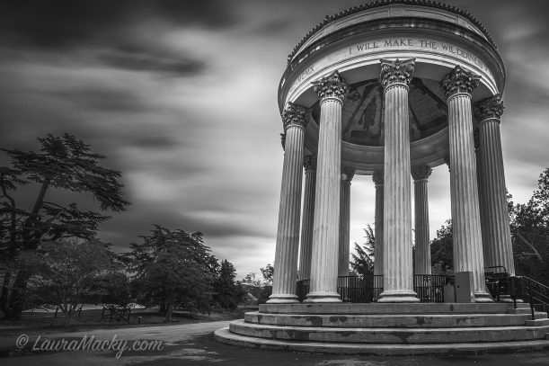 Sunol Water Temple - B&W